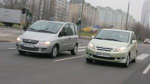 Używane: Fiat Multipla, Honda FR-V