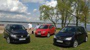 Używane: Ford C-Max, Seat Altea, Volkswagen Golf Plus
