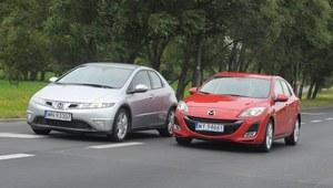 Używane Honda Civic VIII i Mazda 3 II