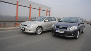 Używane Hyundai i30 i Toyota Auris