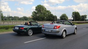 Używane: Mazda MX-5 NB, Renault Megane II CC