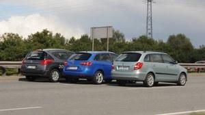 Używane: Peugeot 207 SW, Seat Ibiza ST, Skoda Fabia Combi