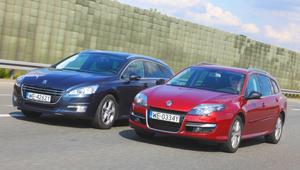 Używane Peugeot 508 SW i Renault Laguna Grandtour – porównanie