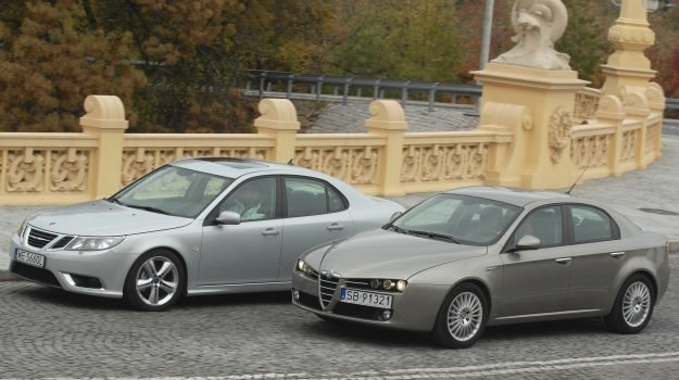 Używane: Saab 9-3, Alfa Romeo 159 /Motor