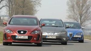 Używane: Seat Leon, Honda Civic, Alfa 147