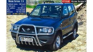 Używany Nissan Terrano II - terenówka starej daty