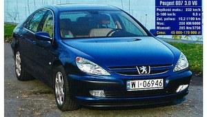 Używany Peugeot 607 (2000-2010) – niedoceniany