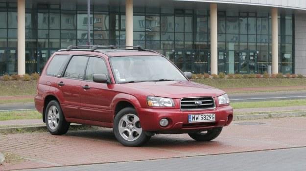 Używany Subaru Forester (1997-2008) /Motor
