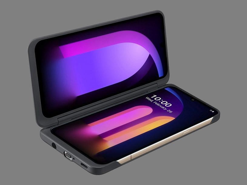 V60 i LG Dual Screen /materiały prasowe
