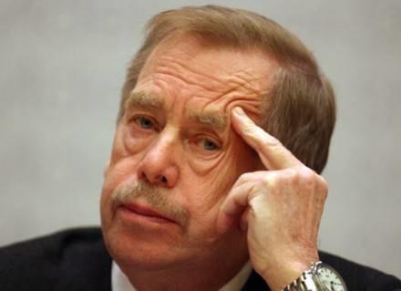 Václav Havel gościem wydawnictwa Znak /AFP