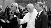 Vaclav Havel podczas spotkania z Janem Pawłem II w 1997 roku