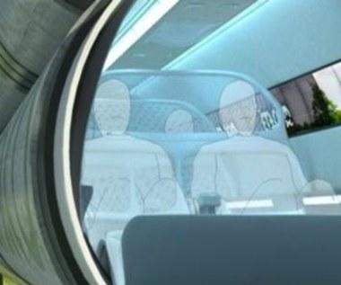 Vactrain - pociągiem próżniowym 6,5 tys. km/h
