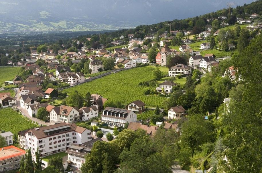 Vaduz w Liechtensteinie /PAP/DPA/W. Wirth /PAP/EPA