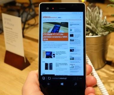 VAIO Phone Biz - aluminiowy smartfon z Windowsem 10