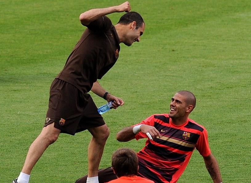 Valdes: Guardiola urządzał mi awantury, tak jak wszystkim piłkarzom /Getty Images/Flash Press Media