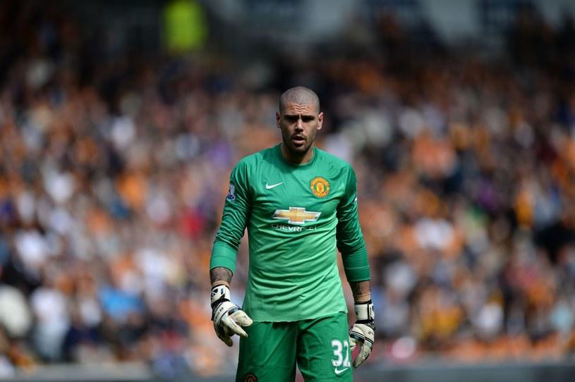 Valdes w barwach Manchesteru United /AFP