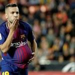 Valencia - Barcelona 1-1. Jordi Alba domaga się VAR-u