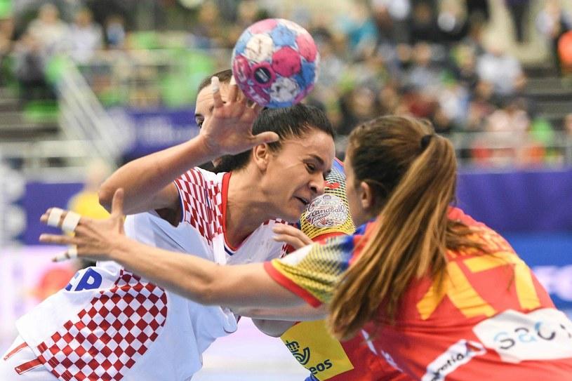 Valentina Blażević (z piłką) /AFP