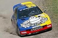 Valentino Rossi w Peugeocie 206 WRC /INTERIA.PL