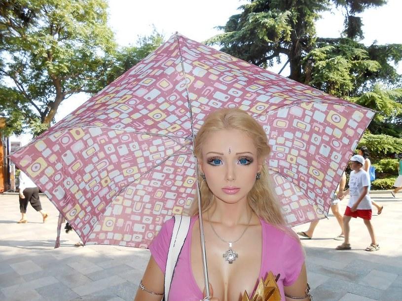 Valeria Lukyanova /Fanpage na Facebooku /INTERIA.PL