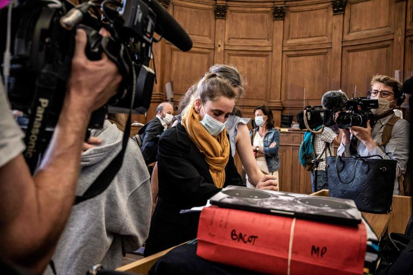 Valerie Bacot w czasie procesu. /JEFF PACHOUD /East News
