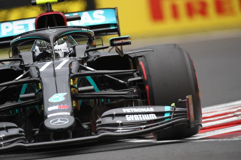 Valtteri Bottas za kierownicą Mercedesa /MARK THOMPSON / POOL / AFP /AFP