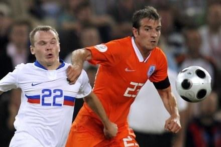 Van Der Vaart błyszczał podczas Euro 2008. /AFP