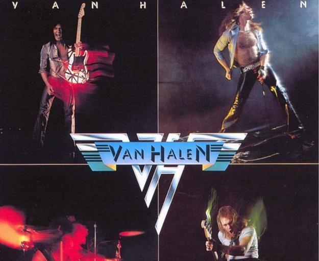 Van Halen na okładce swojego debiutu /