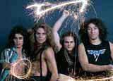 Van Halen z Davidem Lee Rothem /
