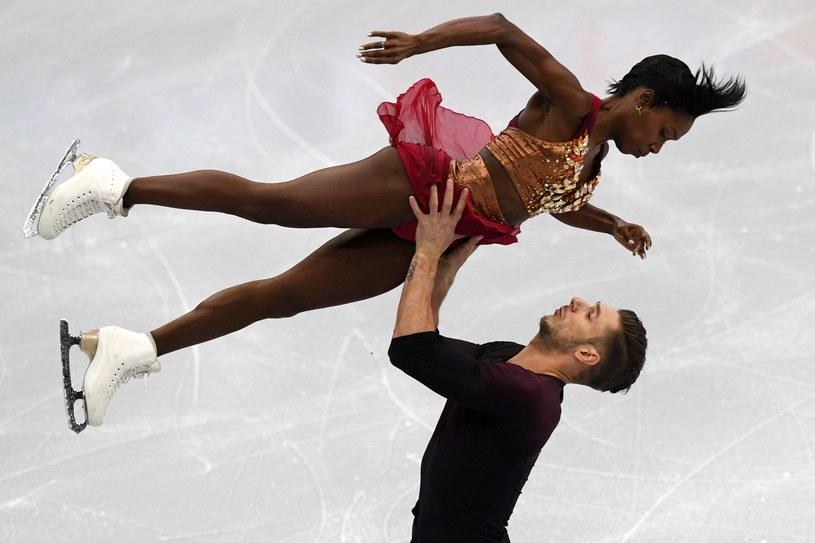 Vanessa James i Morgan Cipres /AFP