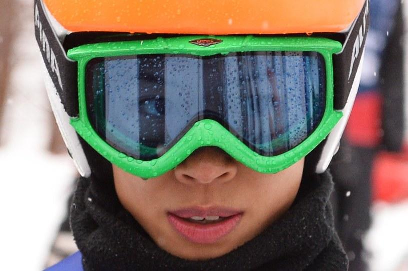 Vanessa Mae podczas igrzysk w Soczi /AFP