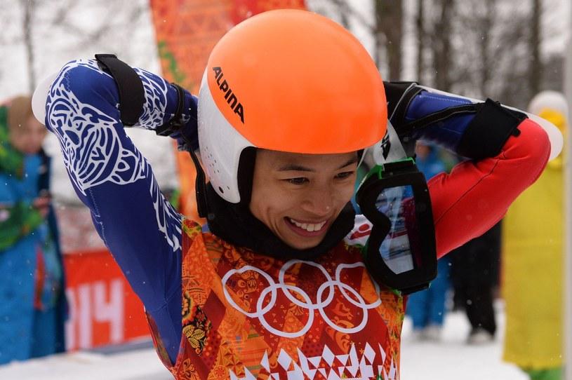 Vanessa Mae Vanakom zabawiła się w Soczi, a teraz wychodzą skandale. /AFP