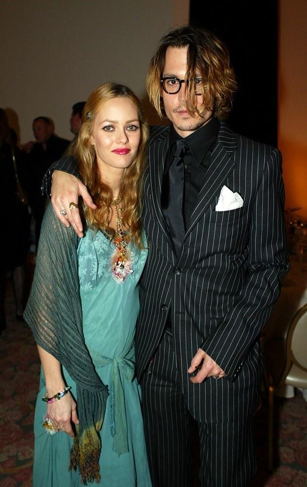 Vanessa Paradis i Johnny Depp /Kevin Winter /Getty Images