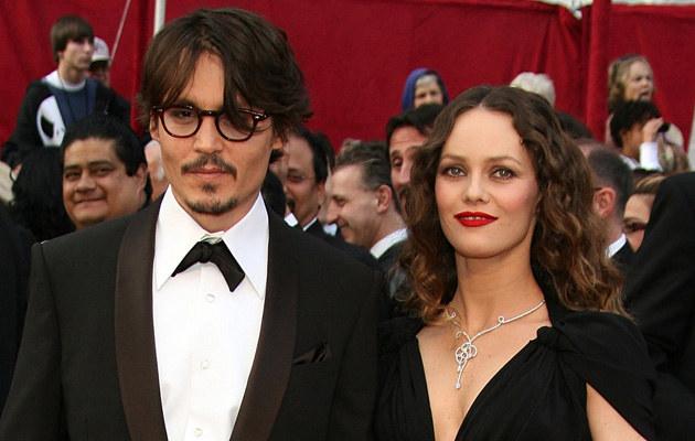 Vanessa Paradis, Johnny Depp /Frazer Harrison /Getty Images/Flash Press Media