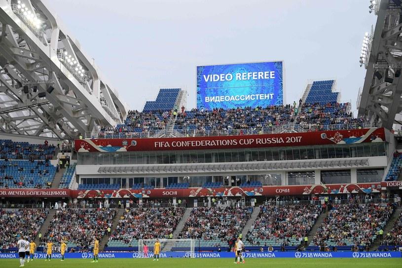 VAR był stosowany podczas Pucharu Konfederacji w Rosji /AFP