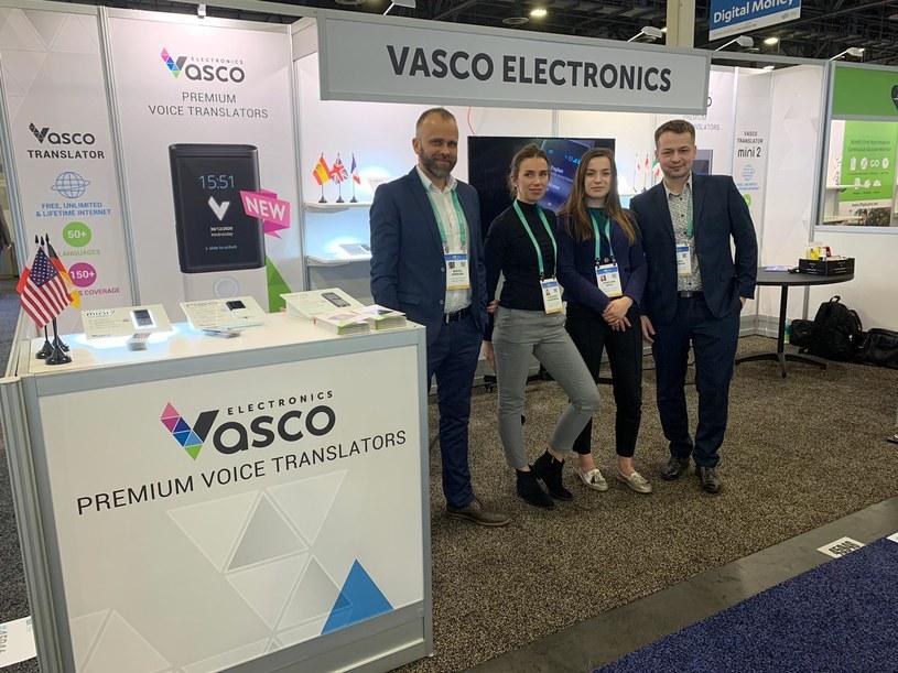 Vasco Team w czasie ostatnich targów CES w Las Vegas /Informacja prasowa