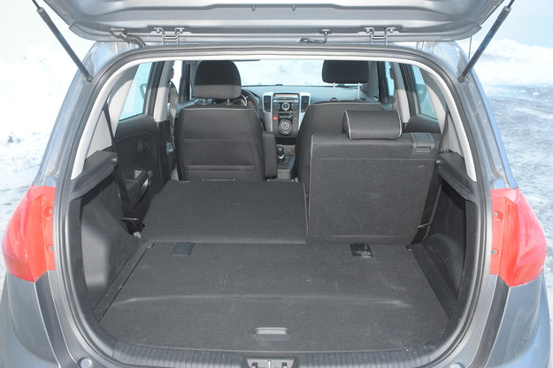 venga bagażnik /Motor