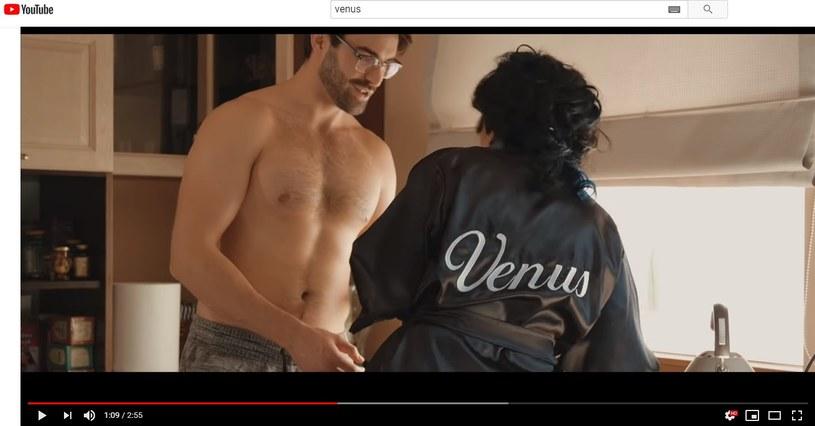 Venus w klipie z seksownym mężczyzną /materiał zewnętrzny