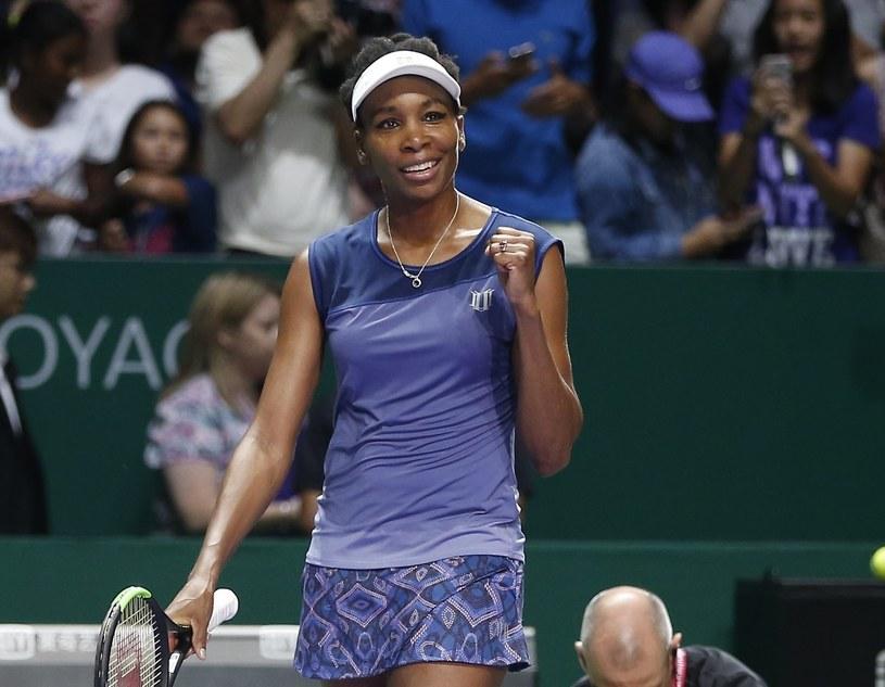 Venus Williams nawiązuje w tym roku do swoich najlepszych czasów /PAP/EPA