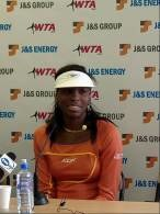 Venus Williams podczas konferencji /INTERIA.PL