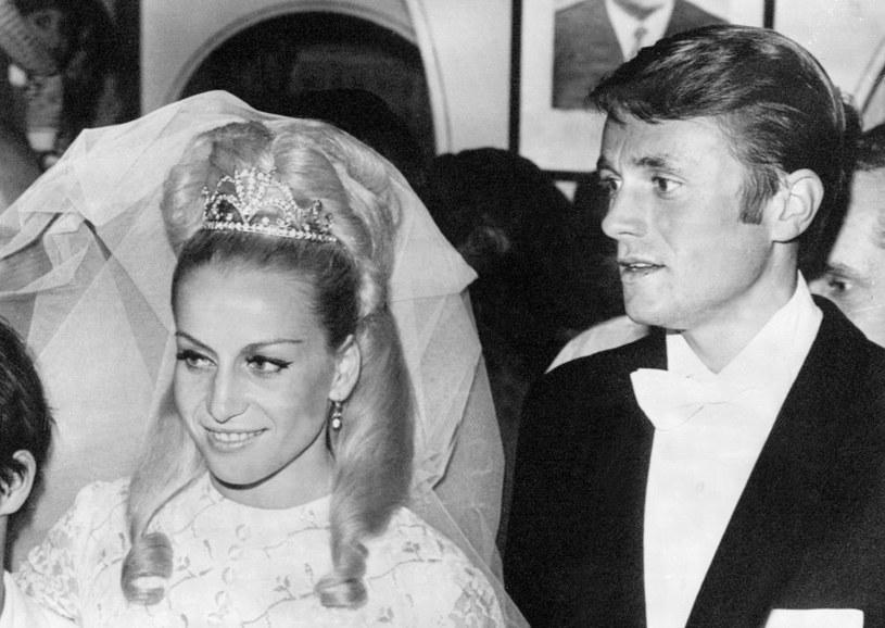 Vera Caslavska w czasie igrzysk w Meksyku wzięła ślub z Josefem Odlozilem /AFP