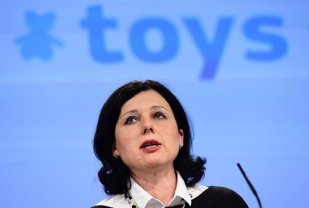 Vera Jourova, unijna komisarz sprawiedliwości /AFP