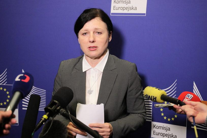 Vera Jourova w Polsce / Paweł Supernak   /PAP/EPA