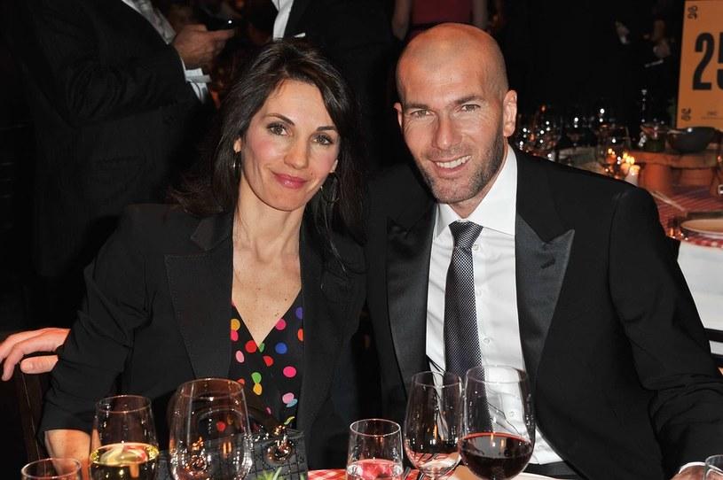 Vernonique i Zinedine Zidane'owie /Getty Images /Getty Images