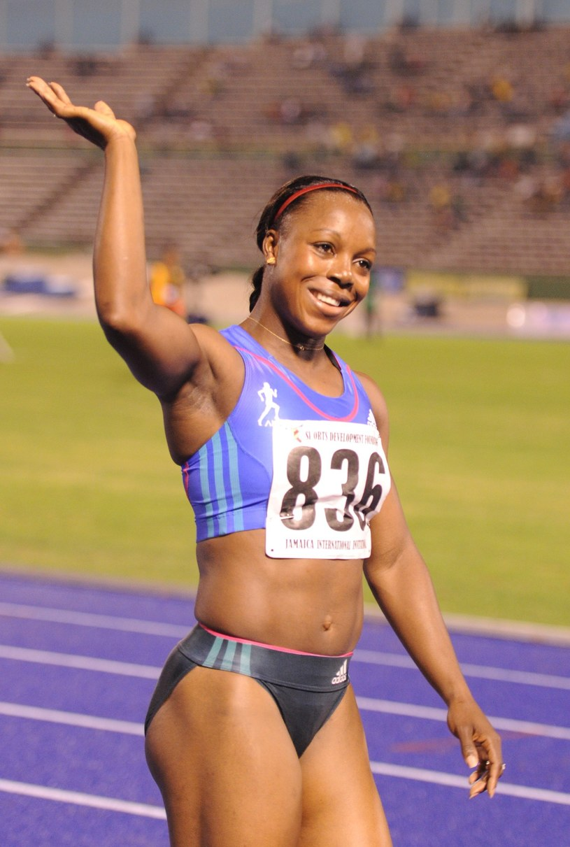 Veronica Campbell-Brown /AFP
