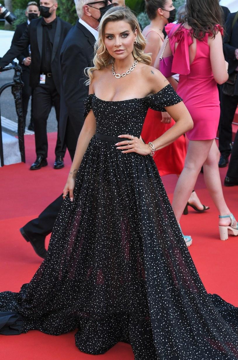 Veronica Ferraro na Festiwalu Filmowym w Cannes /Rex Features /East News