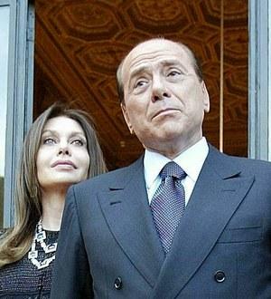 Veronica Lario i Silvio Berlusconi w 2007 roku /fot. Danilo Schiavella /PAP