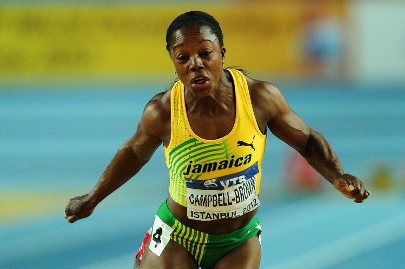 Veronice Campbell-Brown grozi nawet dwuletnia dyskwalifikacja /AFP