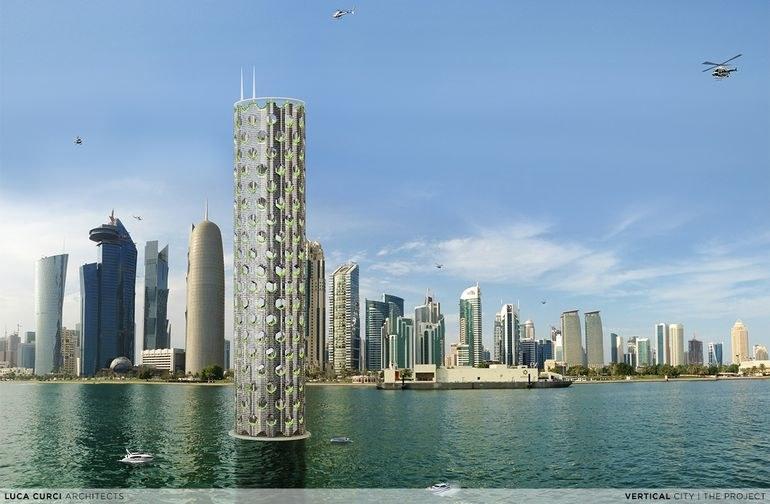 Vertical City powstanie na Bliskim Wschodzie /fot. Luca Curci /materiały prasowe
