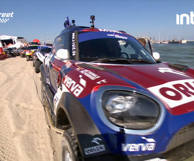 VERVA STREET RACING. Emocjonujący pokaz samochodów Rajdu Dakar. Wideo